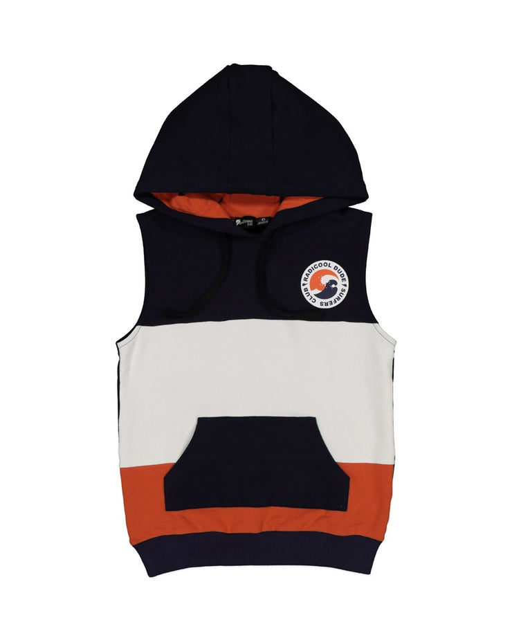 RD1423 SURF CLUB SLEEVELESS HOOD