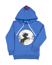 KR1234 UNICORN BOBBLE HOOD