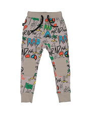 RD1412 DUDE GRAFFITI PANT