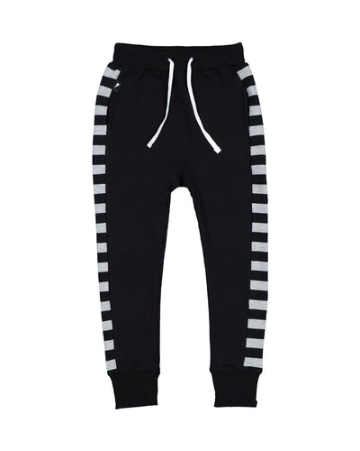 RD1317 STRIPED PANEL PANTS