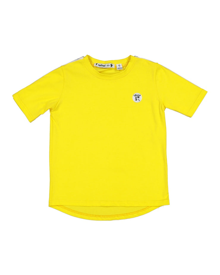 RT0702 RAD TRIBE TEE IN YELLOW