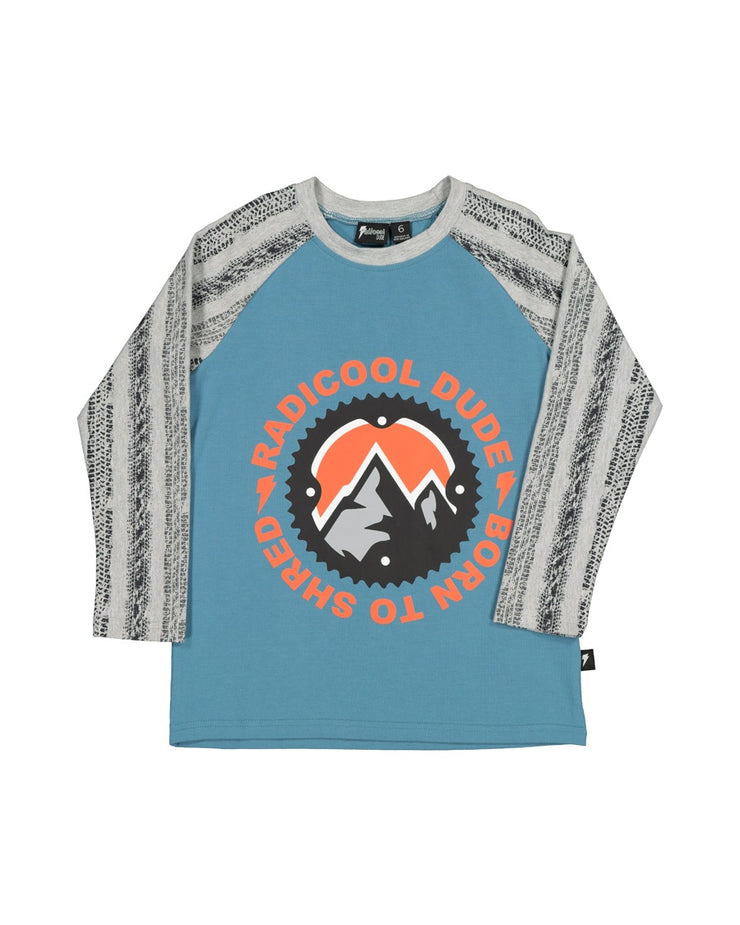 RD1541 BORN TO SHRED L/S TEE