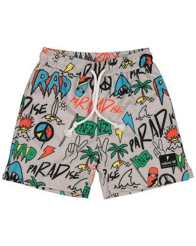 RD1415 DUDE GRAFFITI BOARDIES