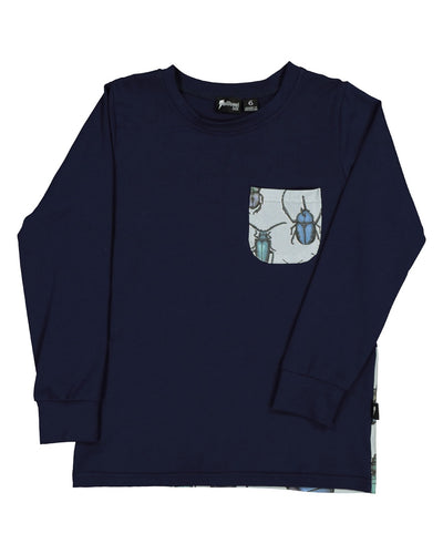 RD1510 BEETLES POCKET L/S TEE
