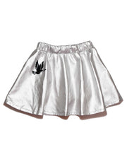 3 KR0616 SILVER HAZE SKIRT IN METAL