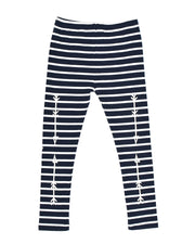 KR0707 ARROWS LEGGING in STRIPE