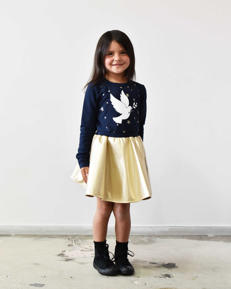 KR0708 STARRY NIGHTS TUTU in NAVY