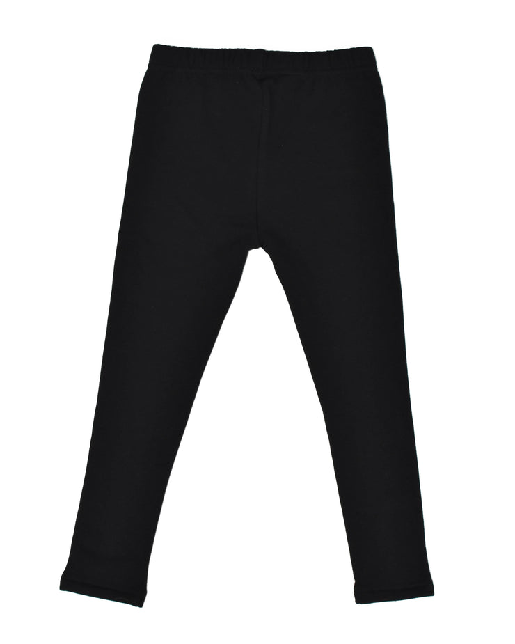 KR0914 KISSED LEGGING in BLACK