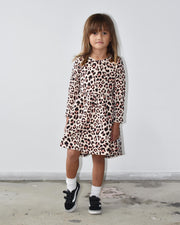KR0929 LEOPARD DRESS