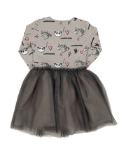 KR1239 UNICORN PANDA TUTU DRESS