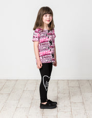 KR1312 KISSED GRAFFITI TEE