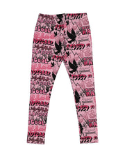 KR1313 KISSED GRAFFITI LEGGING