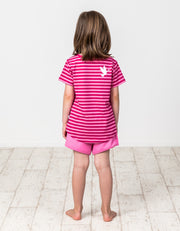KR1315 CANDY STRIPE MERMAID TEE