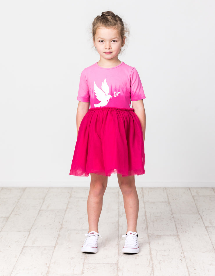 KR1319 CANDY DIP TUTU DRESS