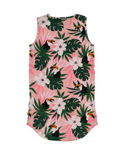 KR1337 TROPICAL RESORT DRESS