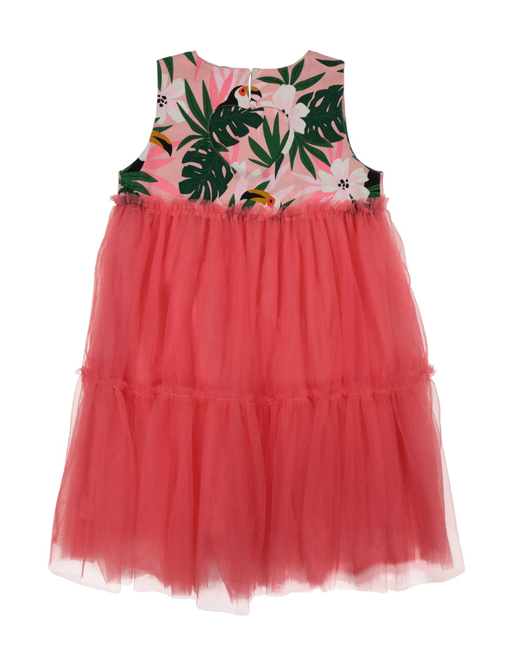 KR1338 TROPICAL PRINCESS DRESS