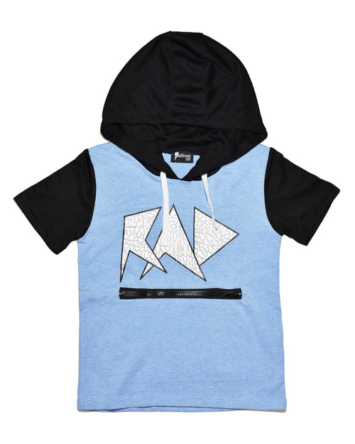 4 RD0803 EDGE HOODED TEE IN BONDI