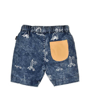RD1213 JAWS DENIM SHORT
