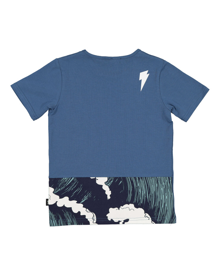 RD1401 WAVES POCKET TEE