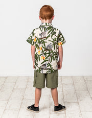RD1441 JUNGLE CARGO SHORTS