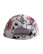 RLL0103 FLORAL 5 PANEL CAP