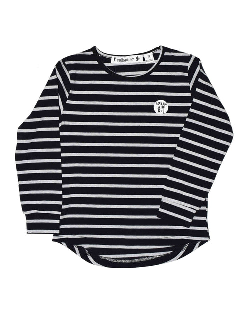 1 RT0201 TEE in BLACK STRIPE