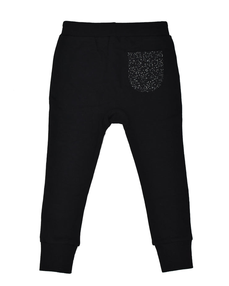 RT0409 TRIBE PANT in BLACK