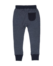 RT0608 TRIBE PANT IN NAVY STRIPE