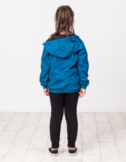 RT0614 TRIBE REVERSIBLE JACKET IN BLACK & TEAL