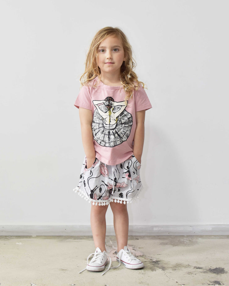 KR0833 TINY DANCER TEE