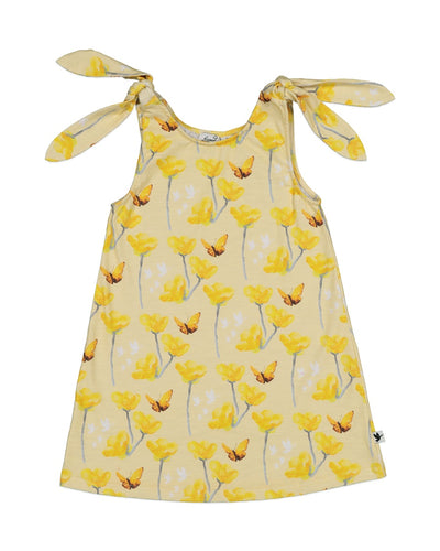 KR1303 HEY BUTTERCUP TIE DRESS