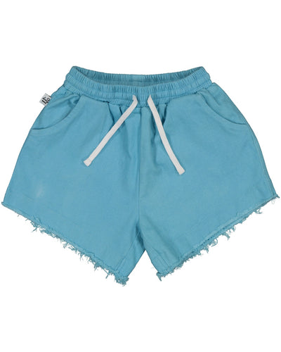 KR1324 BLUE SKY DENIM SHORTS