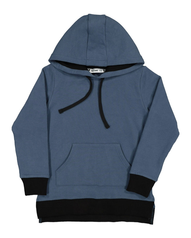 RT0810 TRIBE HOOD IN SLATE BLUE