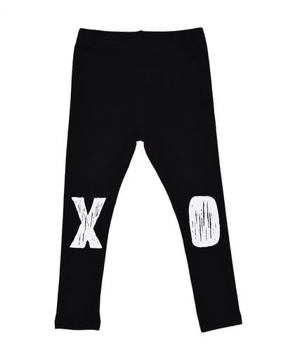 KR0712 AMOUR LEGGING in BLACK