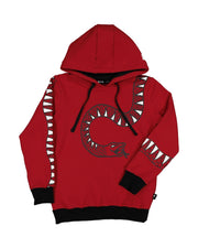 RD1334 SERPENT HOOD IN RED