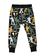 RD1105 LEFT RIGHT PANT in MULTI
