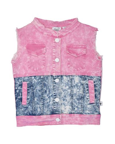 KR0821 MAGICAL DENIM VEST