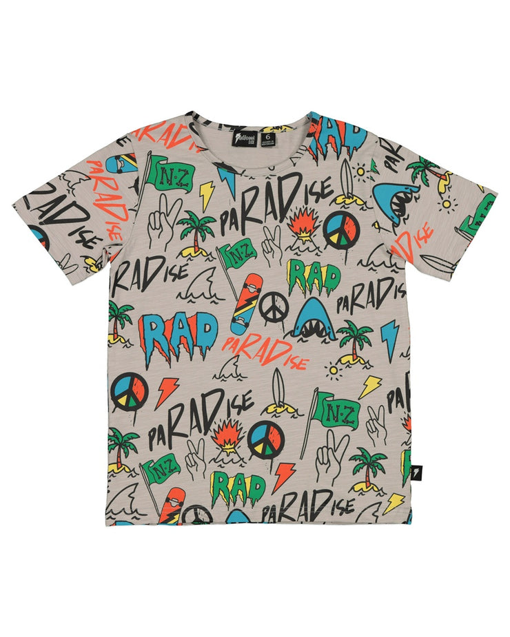 RD1410 BEACHED GRAFFITI TEE