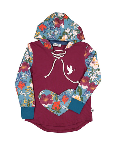 KR1220 HEART OF FLOWERS HOOD