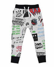 RD1115 GRAFFITI PANT in MIX