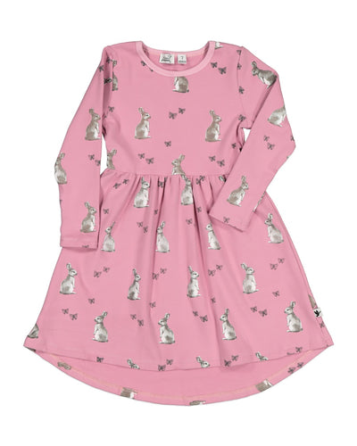 KR1228 BUNNY BUTTERFLY DRESS