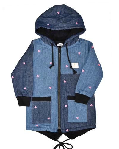 KR0925 SWEETHEART JACKET in DENIM