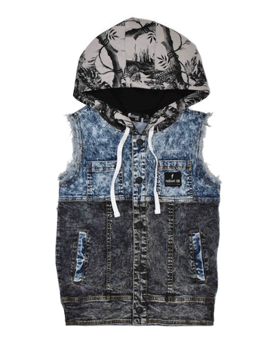 RD1018 ROAR DENIM VEST
