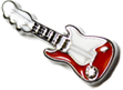 DIY Guitar Design Red Floating Charms ($0.25 each)