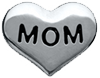 DIY MOM Design Silver Floating Charms ($0.25 each)