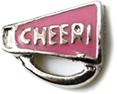 DIY Cheer Horn Design Pink Floating Charms ($0.25 each)
