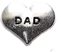 DIY DAD Design Silver Floating Charms ($0.25 each)