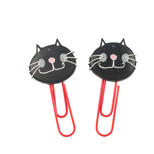 Large Black Cat Bookmark