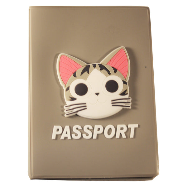 Kitty Cat PVC Thick Passport Cover/ Holder