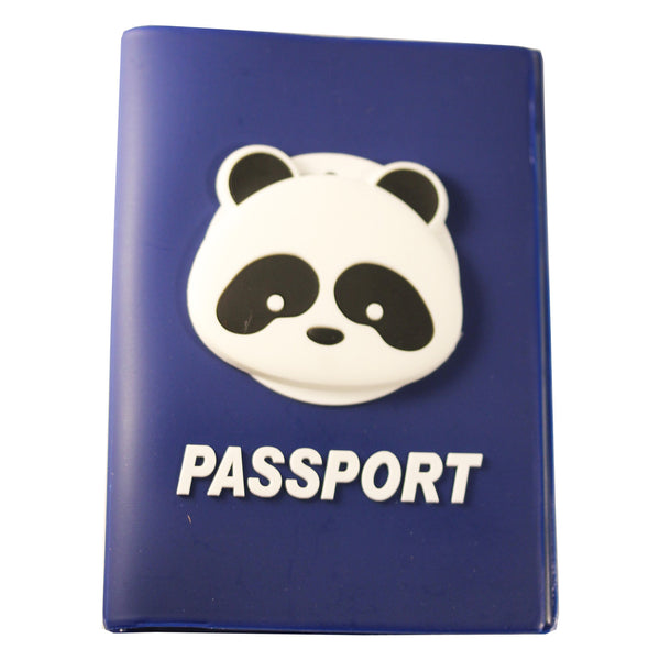 Panda PVC Thick Passport Cover/ Holder